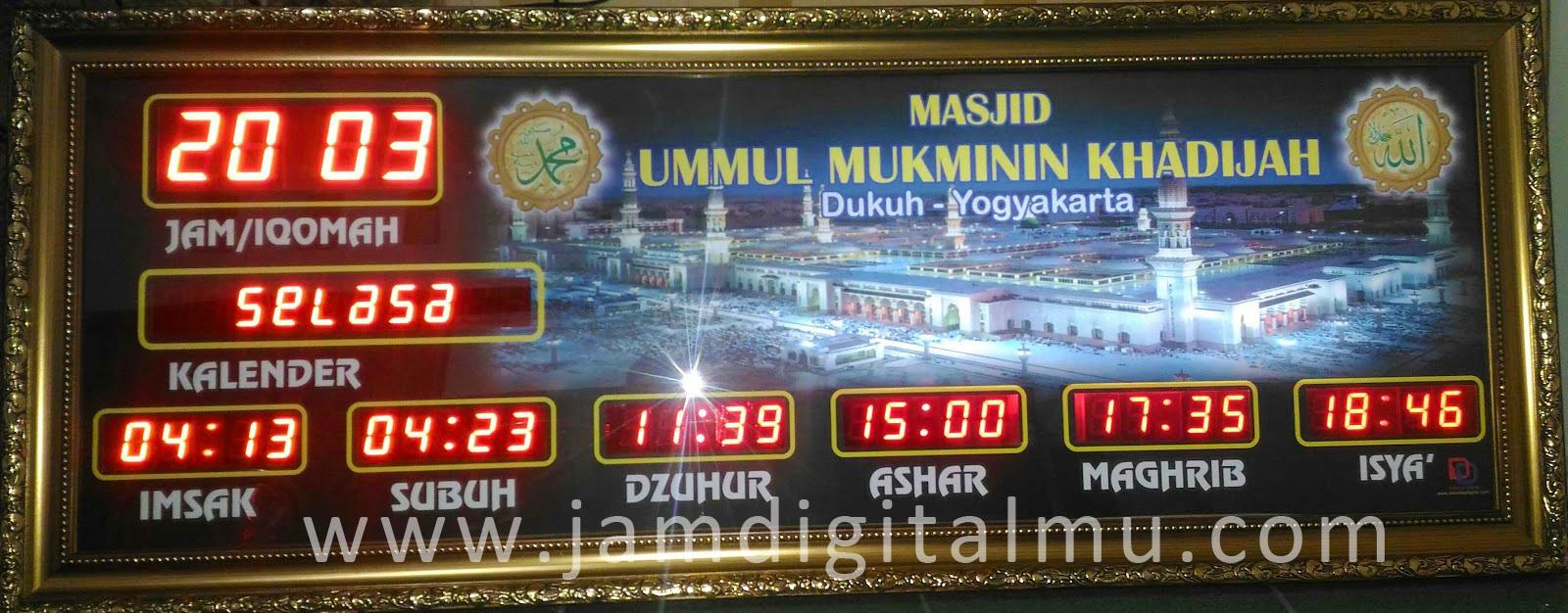 Jam Digital Masjid Termurah