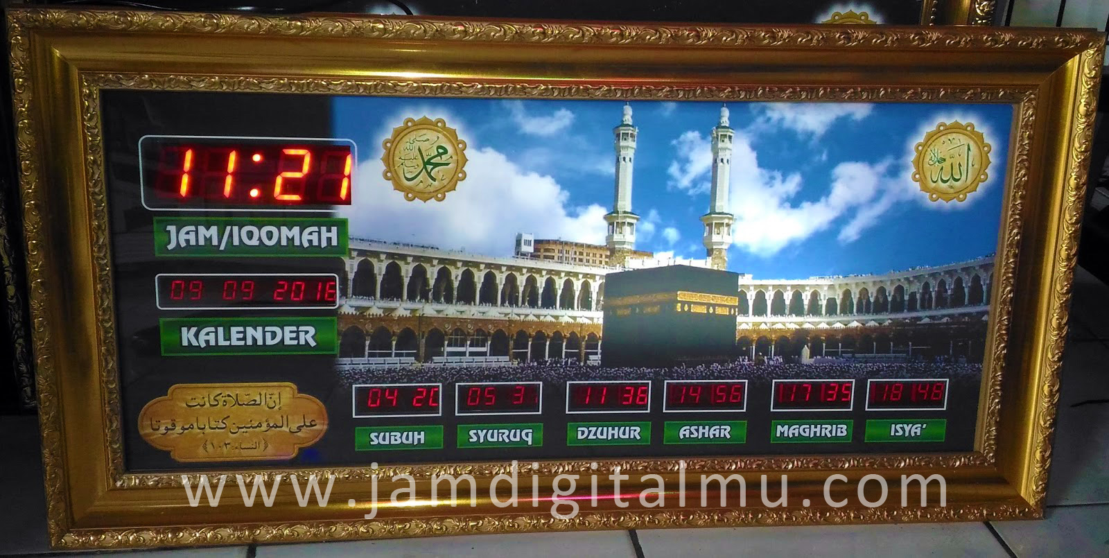 Jam Digital Masjid Mini Termurah