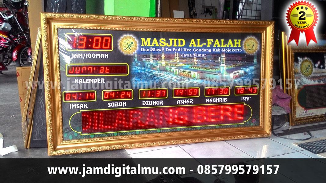 Jadwal Sholat Digital Termurah 04 RT, Megah Dipandang !