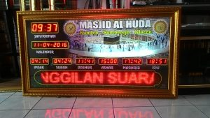 Tips memilih jam digital masjid