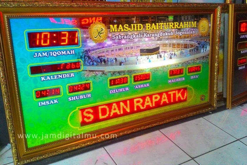 Jam digital masjid murah