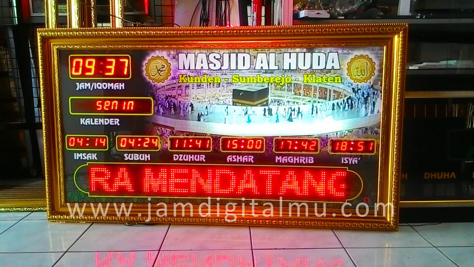 Jadwal Sholat Digital Termurah di Indonesia