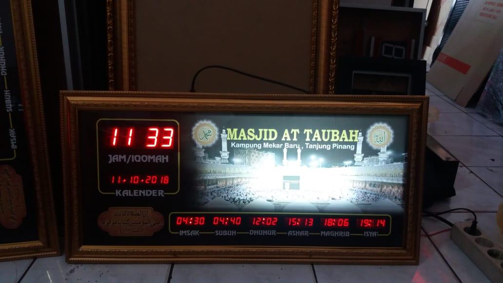 Jadwal Sholat Digital Masjid At Taubah di Tanjung Pinang