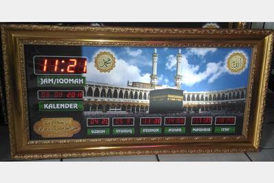 Jam Digital Masjid Ukuran Kecil