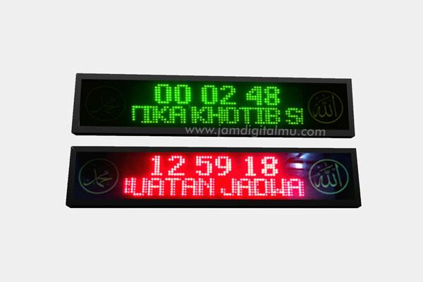 Running Text Masjid A2