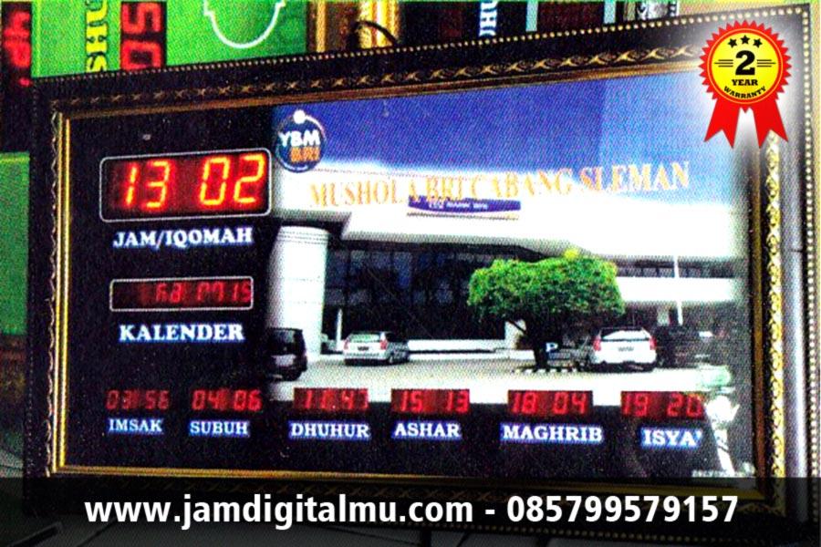 Jam Digital Masjid Mini Termurah Desain Minimalis dan Hemat Biaya